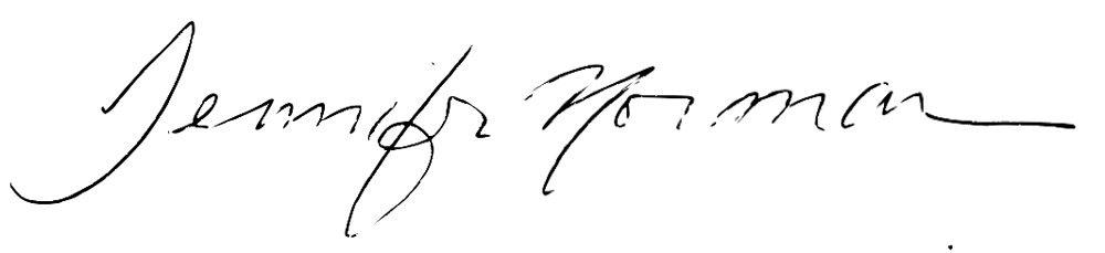 Jennifer Norman Signature