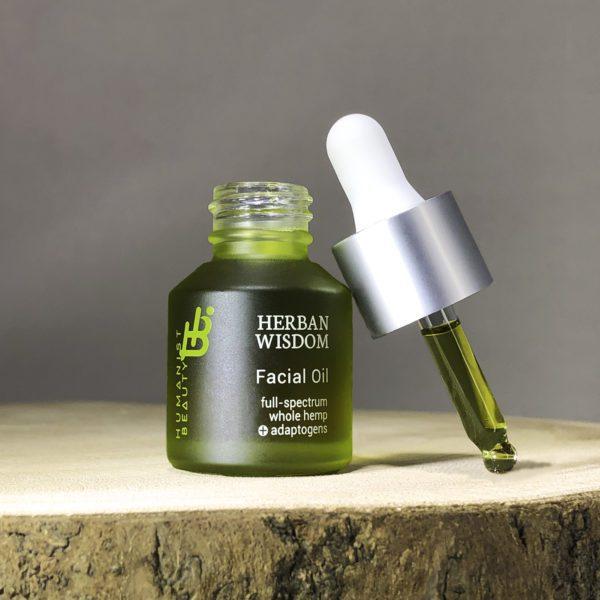 Herban Wisdom Facial Oil 0.5 ounce