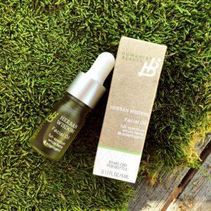 Herban Wisdom Facial Oil Deluxe Sample with Carton