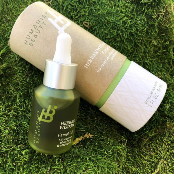 Herban Wisdom Facial Oil Full Size with Carton