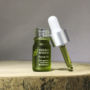 Herban Wisdom Facial Oil sample size