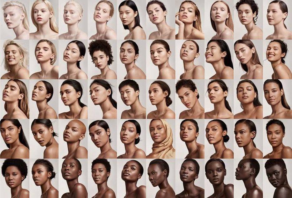 Fenty Beauty Foundation Models